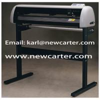 China Creation CT1200 Cutting Plotter Pcut Vinyl Cutter With Stepper Motor Main Board Carriage wholesale