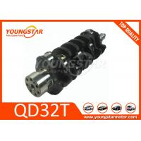 China Casting Iron Engine Crankshaft For Nissan Qd32t Diesel Motor Iso 9001 Certified wholesale