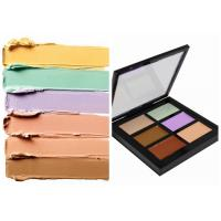 China Private Label Organic Makeup Face Makeup Concealer Palette With 6 Colors on sale