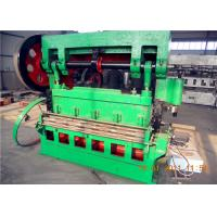 Quality Heavy Gauge Expanded Metal Lath Machine , Expanded Mesh Machine 4.0kw Power for sale