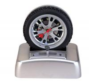 China Spinning Tire Alarm Clock wholesale