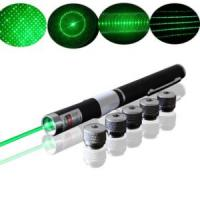 China 5 In1 Green Laser Pointer with 5 Laser Pattern Heads (XL-GP-202) wholesale
