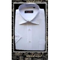 Quality Solid Dress Shirt for White Color for sale