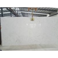 Quality High Hardness Quartz Stone Slab Unique Color Max 0.04% Water Absorption for sale