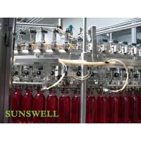 China Soft Drinks Beverage Carbonated Filling Machine wholesale