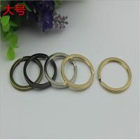 China Manufacturing various color iron key chain accessories 29 mm small split key ring wholesale