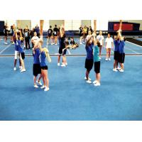 Buy cheap Gymnastics Blue 50mm Cheerleading Floor Mat Velcro Connect from wholesalers
