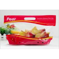 China Heat Seal Transparent Fresh Fruit Bags Packaging Pouch Gravure Printing FDA Standard wholesale
