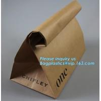 China Wholesale Promotion Custom Made Kraft Paper French Bread Baguette Bag For Bakery Packaging,Custom Made Brown Paper Bags on sale