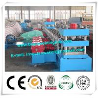 China 3 Waves Cold Rolled Steel Silo Forming Machine With 17 Forming Stations wholesale