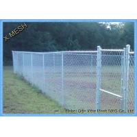 Quality Hot Dipped Galvanized 6x10 ft 9 gauge colored chain link fence fabric for for sale