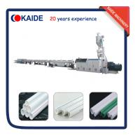 China Plastic Pipe Extrusion Machine for PPR Water Pipe 28m/min KAIDE factory wholesale