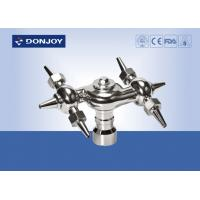 China Stainless Steel  CIP System 360° Rotary Tank spray cleaning Ball,Thread Cleanning Ball wholesale
