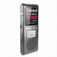 China New 1.44-inch LCD Screen Voice Recorder with Metal Cover and Taking Video Function wholesale