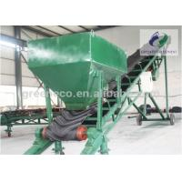 China Strong Mobile Industrial Belt Conveyor With Hopper For Powdery Material wholesale