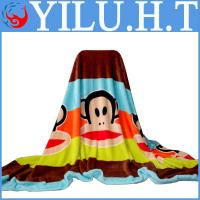 China ultra soft factory flannel flannelette fleece polyester bed sheet blanket wholesale