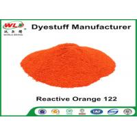 China Orange 122 Reactive Dyes Cotton Fabric Dye Powder Textile Dyestuffs wholesale