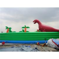 China Colorful Dinosaur Theme Inflatable Water Parks For Pool And Lake wholesale