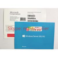 China Windows Server 2012 Retail Box , Windows Server 2012 Standard R2 5 CALS wholesale