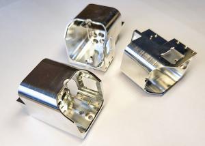 China CNC Machined Aluminum Parts Anodized Chromate CNC Machined Aluminum Parts + - 0.01 mm wholesale