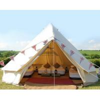 Buy cheap White Outdoor Canvas Tent For For Emergency Shelter Disaster Relief & Camping from wholesalers