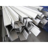 China 304 304L 316L stainless steel angle bar wholesale