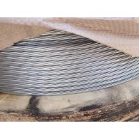 China Strong Adhesion Hot Dip Galvanized Steel Wire For Rope Electrical Wire wholesale