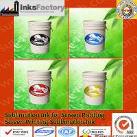 China Sublimation Ink for Screen Printing Press on sale