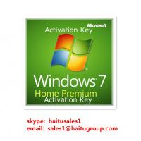 China Windows 7 Home premium key 32/64bit Micrsoft windows 7 product key codes wholesale