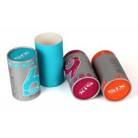 China Offest Print Paper Cylinder Containers White Coated Paper Liner Tea / Coffee Use wholesale
