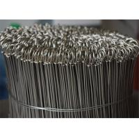 China Looped Bar Tie Galvanized Iron Wire , Low Carton Steel 12 Gauge Galvanized Wire on sale