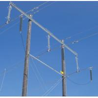 China Composite Housed Transmission Line Surge Arrester High Voltage , Silicon Rubber Material wholesale