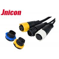 China JNICON M19 Waterproof Plug Socket Electrical IP67 High Refined Copper Contact wholesale