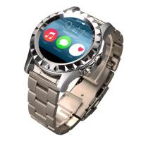 China Rose Gold / Silver Adults Bluetooth Smart Watches With Heart Rate wholesale
