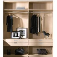 China Double Face Cloakroom Walk In Closet Systems Customized Size 18mm MFC Material wholesale