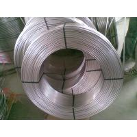 China stainless steel heat exchanger coiled tubing /steel cooling coil tubing on sale