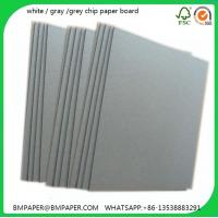 China Large size grey board paper China / Standard paper size China / Paper size board on sale