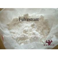 China Cancer Treatment Anti Estrogen Steroids Faslodex Fulvestrant Hormonal 129453-61-8 wholesale