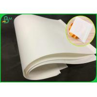 China 70GSM Natural Virgin White Kraft Paper Roll With FSC Certification wholesale