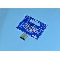 China Simple Color / Button Raised And Large Size Control Membrane Switch wholesale