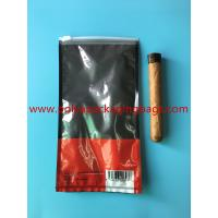 China Customized Printed Small Cigar Humidor Bags / Cigar Packaging Bag wholesale