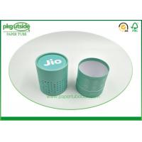 China Rigid Cardboard Tube Boxes Colorful Printed Stamping Logo High End Durable wholesale