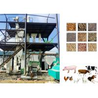 China Sheep Cattle Animal Feed Pellet Production Line Grains / Maize Raw Material wholesale