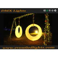 China IP54 Waterproof Light LED Swing Chair , Commercial LED Bar Counter for Wedding wholesale