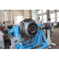 China Stainless Steel PE Plastic Pipe Extrusion Machine Plastic Extruders Of Two Layers wholesale