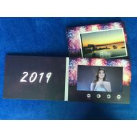 Quality Digital innovation  video cards 7'' lcd screen video brochure card video invitation card for wedding/event celebration for sale