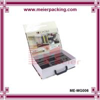 China Luxury design custom printing magnetic paper box packaging with handle and foam insert wholesale