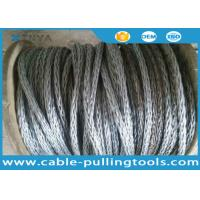 China 24mm Anti-twisting Breaking Load 360kN Braided Steel Wire Rope Overhead Line Stringing Rope wholesale