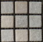 Quartz floor tiles mosaic natural stone tiles