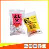China Zip Lock Plastic Biohazard Specimen Bags / Vaccine Transport Bags Waterproof wholesale